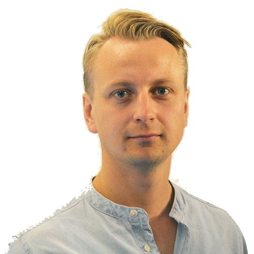 Thomas Jansson, COO, medgrundare och Country Manager för Finland